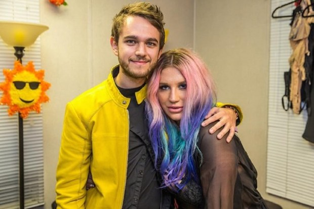 Zedd and Kesha