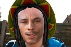 Bob Marley Snapchat Filter