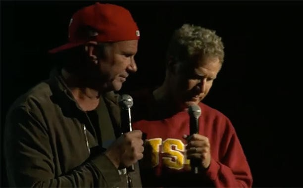 Watch Mick Fleetwood, Stewart Copeland, Taylor Hawkins, & Tommy Lee Join Will Ferrell & Chad Smith's Latest Charity Drum-Off