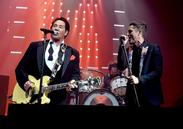 Watch The Killers Perform With Wayne Newton & Blue Man Group At Vegas Arena Opening