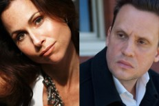 Minnie Driver and Mark Kozelek
