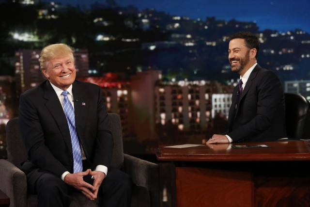 Donald Trump & Jimmy Kimmel