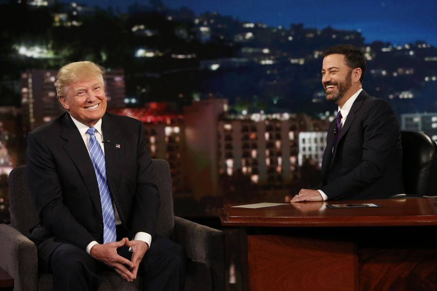 Donald Trump & Jimmy Kimmel