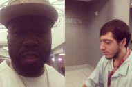 50 Cent In Hot Water For Mocking Autistic Airport Janitor On Video