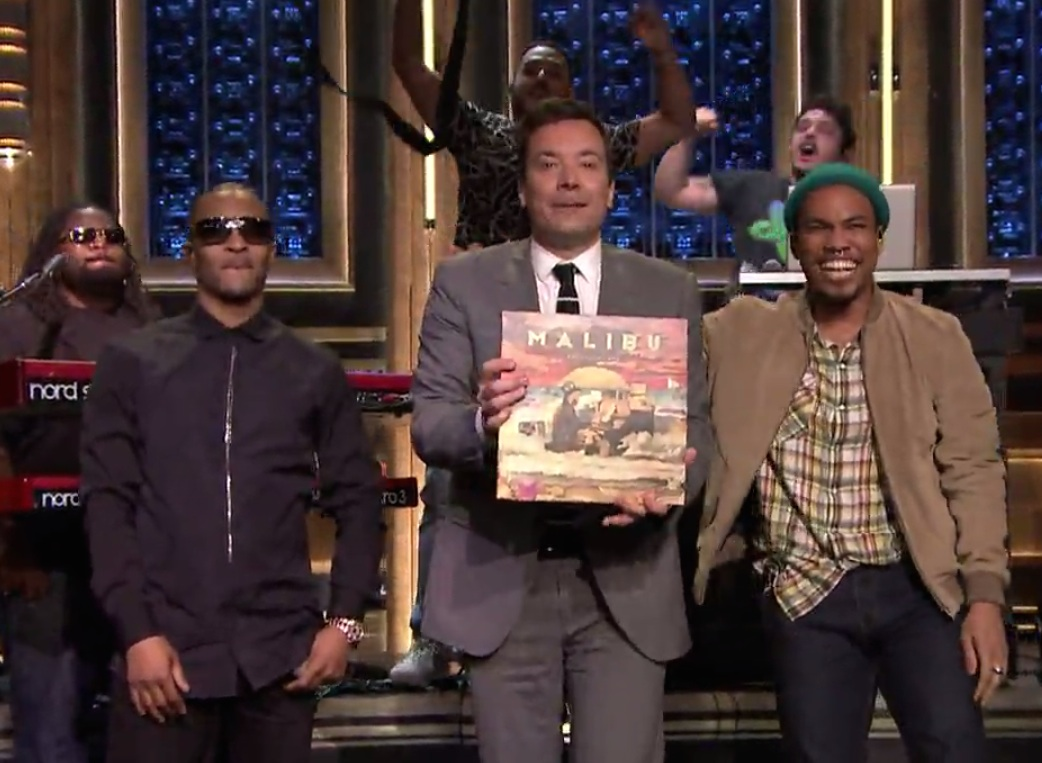 Anderson Paak and TI on The Tonight Show