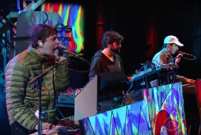 Animal Collective on Colbert