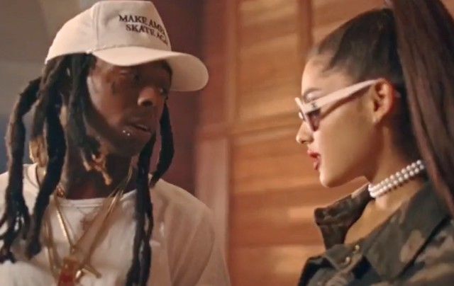 Ariana Grande and Lil Wayne