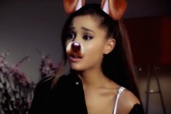 Watch Ariana Grande In The Snapchat Horror Movie <em>Dog Face Filter</em>