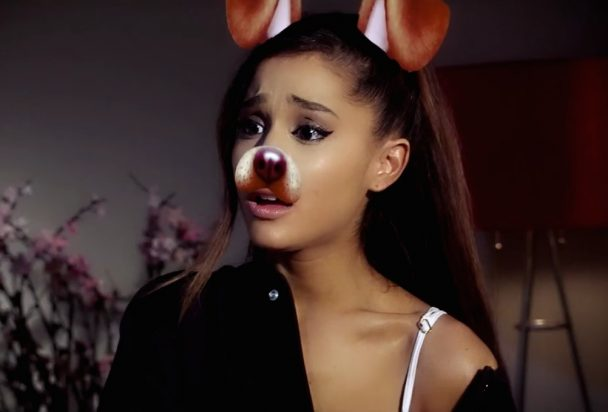 Watch Ariana Grande In The Snapchat Horror Movie Dog Face