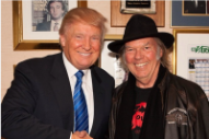 "Neil Young OK With Donald Trump Using His Music: ""I Got Nothing Against Him"""