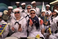 "Watch The Lonely Island And Jimmy Fallon Play ""I'm On A Boat"" With Classroom Instruments"