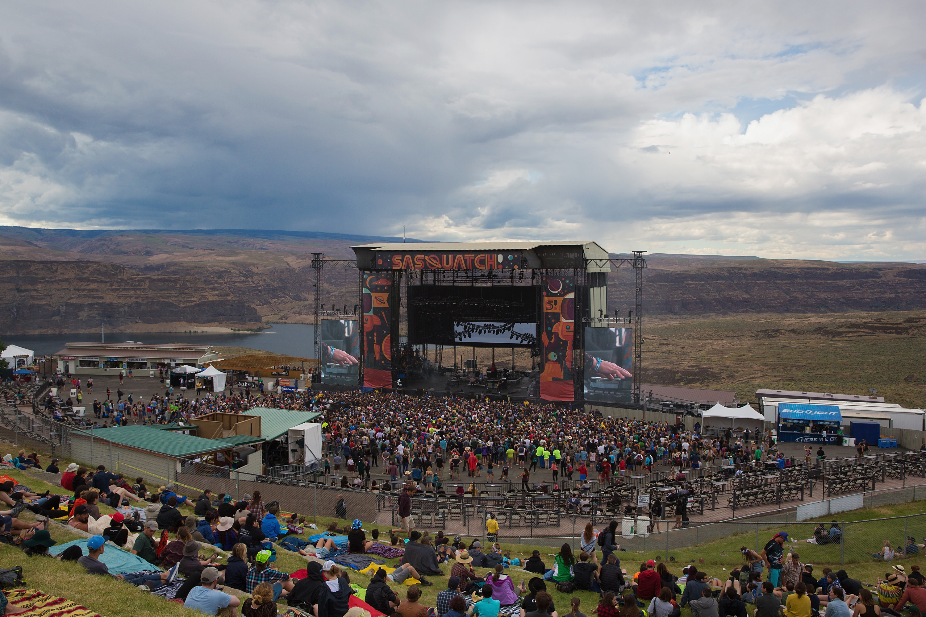 GEORGE, WA - MAY 25: General view of atmosphere during the Sasquatch! Music Festival at The Gorge on May 25, 2015 in George, Washington. (Photo by Mat Hayward/FilmMagic)
