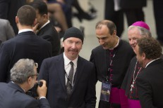 Watch U2's The Edge Cover Leonard Cohen In First-Ever Rock Performance At The Sistine Chapel