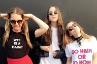 "Watch Haim Debut ""Give Me Just A Little Of Your Love,"" ""Nothing's Wrong,"" & A Prince Cover At LA Tour Opener"