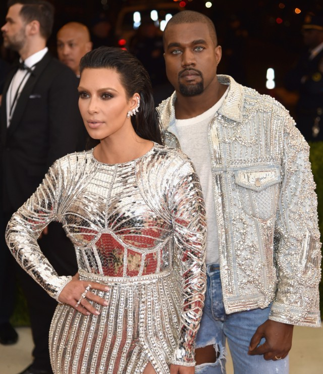 Kanye West at the Met Ball