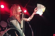 Watch Laura Jane Grace Burn Her Birth Certificate Onstage In North Carolina