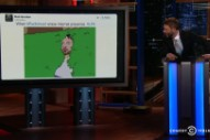 Watch Weird Al, Scott Aukerman, &#038; Rachael Harris Make Radiohead LP9 Jokes On <em>@Midnight</em>
