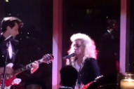 "Watch Lady Gaga & Mark Ronson Cover Talking Heads' ""Burning Down The House"" At Met Gala Afterparty"