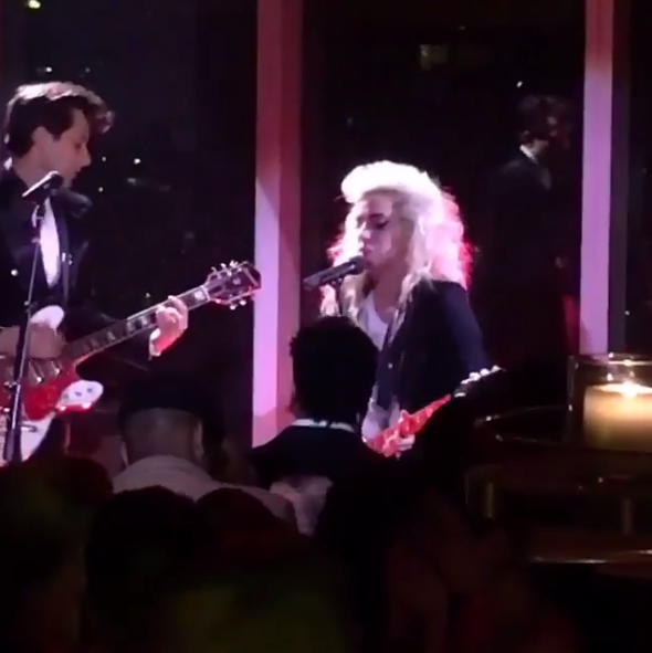 Watch Lady Gaga & Mark Ronson Cover Talking Heads'