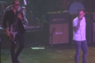 Watch Slipknot's Singer Front Stone Temple Pilots For Charity