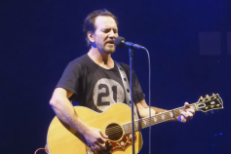 "Watch Eddie Vedder Cover U2's ""All I Want Is You"" In Ottawa"