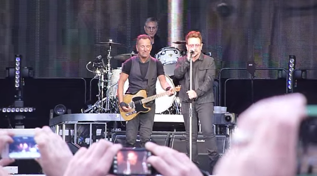 Watch Bono Join Bruce Springsteen On