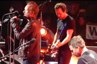 "Watch Pearl Jam Cover The Police's ""Driven To Tears"" With Sting In NYC"