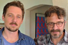 Sturgill Simpson and Marc Maron
