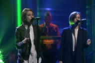 Watch Tegan And Sara Perform &#8220;Boyfriend&#8221; On <em>The Tonight Show</em>