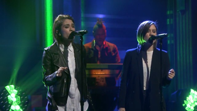 Tegan And Sara On Fallon