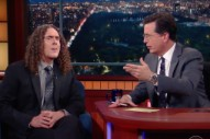 "Watch ""Weird Al"" Yankovic Chat With Stephen Colbert & Perform ""Word Crimes"""
