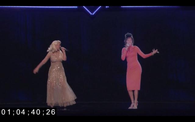 Christina Aguilera & Whitney Houston Duet