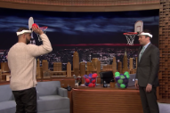 Watch Drake Play Faceketball With <em>Jimmy Fallon</em>