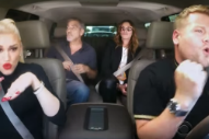 Watch George Clooney & Julia Roberts Sing With Gwen Stefani In Carpool Karaoke