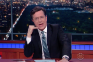 Watch Stephen Colbert Parody Kanye West&#8217;s Intense <em>Ellen</em> Interview