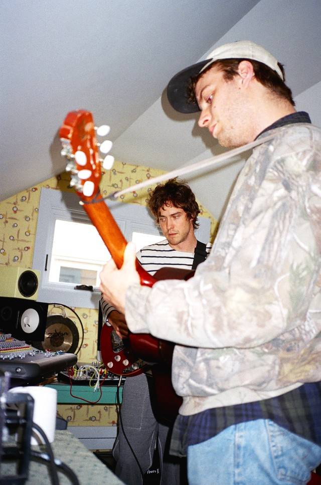 Andrew VanWyngarden and Mac DeMarco