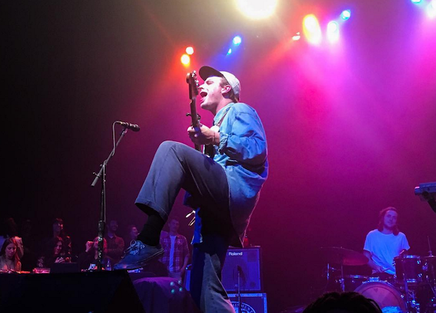 Watch Mac DeMarco Catch A Fan's Cookie Onstage In San Francisco