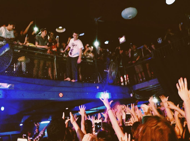 Mac DeMarco Dove Into The Crowd From The Second Floor Of Philly's Electric Factory