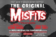Misfits Will Reunite With Glenn Danzig For The First Time In 33 Years At Riot Fest
