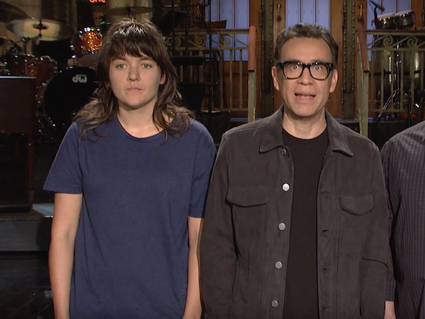 Watch Fred Armisen & Courtney Barnett's <em>SNL</em> Promos