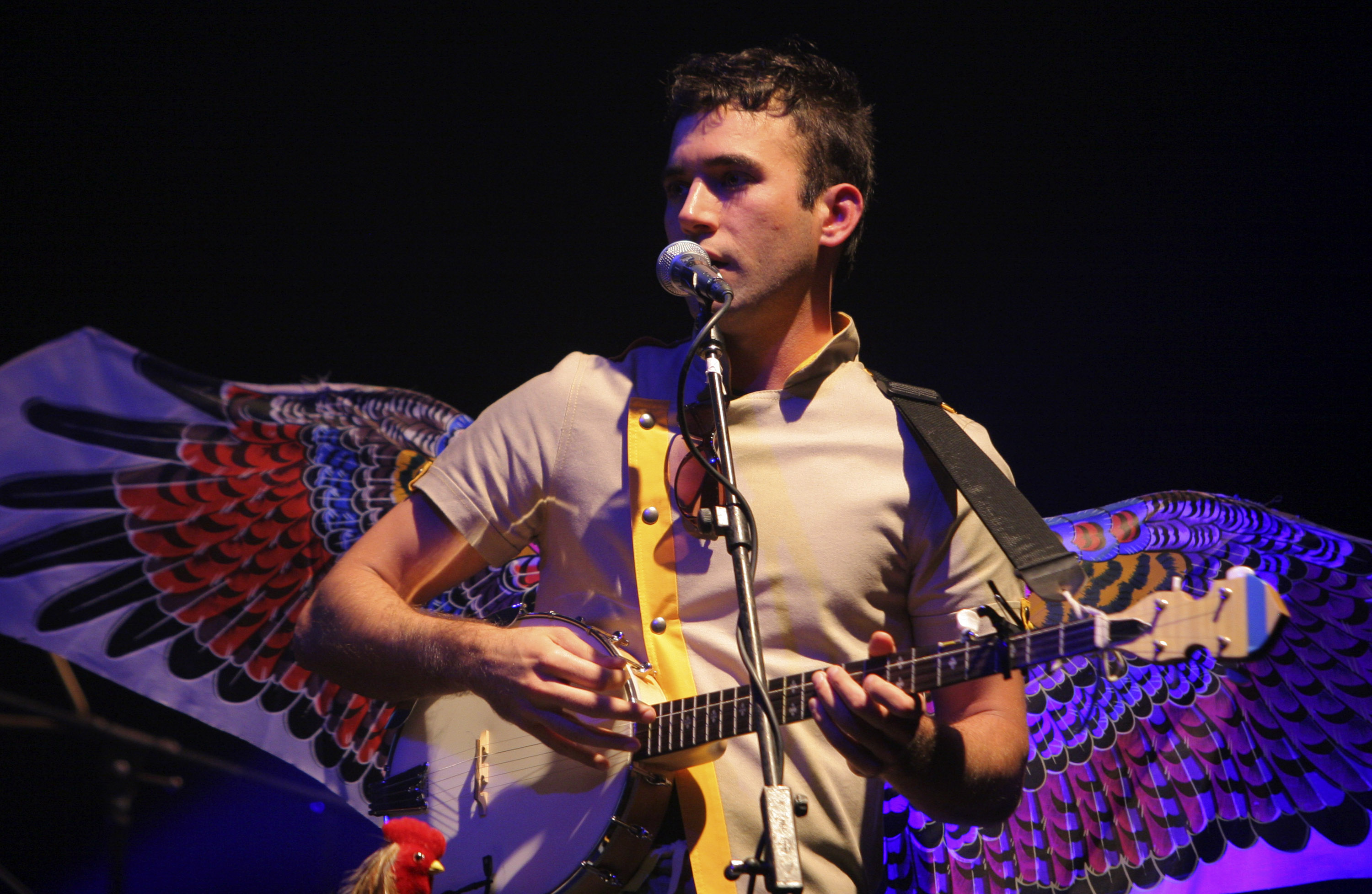 Sufjan Stevens during Sufjan Stevens in Concert - October 9, 2006 at Wiltern in Los Angeles, California, United States. (Photo by Rebecca Sapp/WireImage)