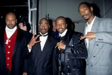Suge Knight, Tupac Shakur, MC Hammer, Snoop Dogg