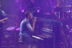 Watch Coldplay Perform On, Write Theme Song Lyrics For <em>Stephen Colbert</em>