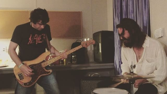 Watch Father John Misty & Dean Ween Jam Backstage At Bonnaroo