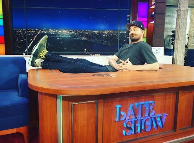 Aesop Rock on Colbert