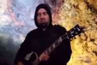Watch Deftones' Chino Moreno Perform Inside A Volcano