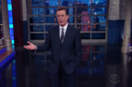 Watch Stephen Colbert Mock Ticketmaster's List Of Concerts Eligible For Ticket Vouchers