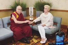 The Dalai Lama and Lady Gaga