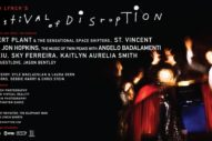David Lynch Announces Festival Of Disruption Feat. Robert Plant, St. Vincent, Mel Brooks, & More