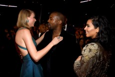 Taylor Swift, Kanye West, Kim Kardashian